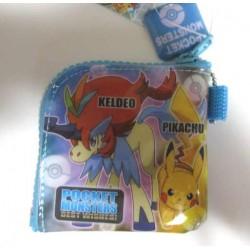 Pokemon 2012 Black White Kyurem Keldeo Pikachu Movie Version Coin Purse