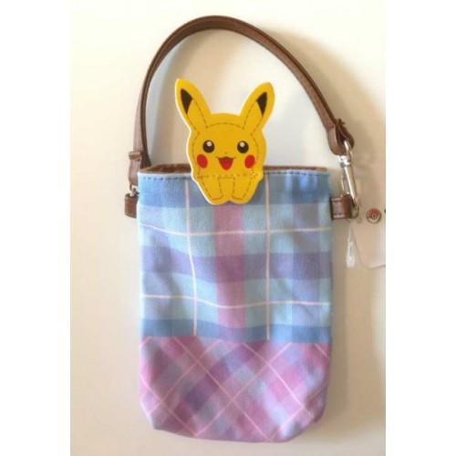Pokemon Center 2013 Peeking Pokemon Campaign Pikachu Mobile Phone Pouch