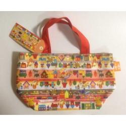 Pokemon Center 2013 Type Focus Campaign Fire Electric Fennekin Pikachu Dedenne Charmander Litleo Tote Bag