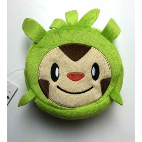 Pokemon Center 2014 Chespin Plush Round Pouch