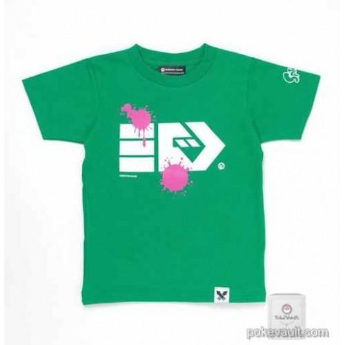 Pokemon Center 2016 Splatoon X Pokemon Center Venusaur Green Adult Size T-shirt (Size Medium)
