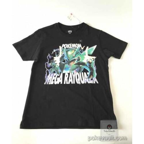 Pokemon 2016 Uniqlo Mega Rayquaza Childrens Tshirt (Size 150cm)