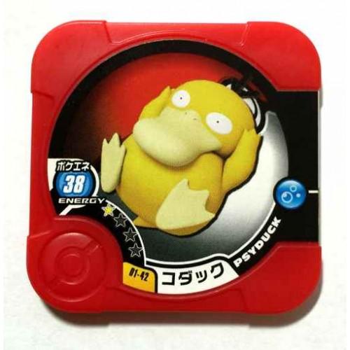 Pokemon 2014 Psyduck Tretta Torretta Coin #01-42