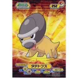 Pokemon 2008 Shieldon Large Bromide Diamond & Pearl Series #5 Chewing Gum Promo Card