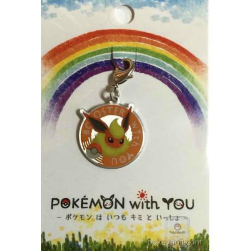 Pokemon Center 2016 Pokemon With You Campaign #5 Flareon Charm