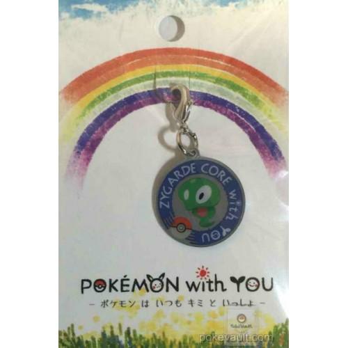 Pokemon Center 2016 Pokemon With You Campaign #5 Zygarde Core Charm