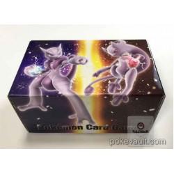 Pokemon Center 2015 Mega Mewtwo X Y Fold Up Large Size Cardboard Storage Box With 45 Energy Cards + 5 Promo Cards