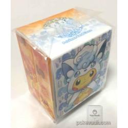 Pokemon Center Sapporo 2017 Renewal Opening Campaign #2 Poncho Pikachu Vulpix Alolan Vulpix Large Size Deck Box