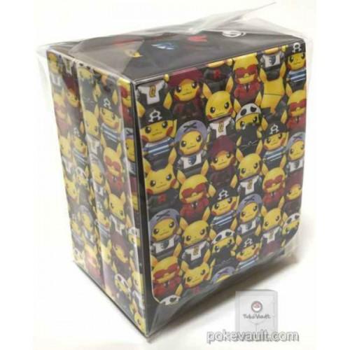 Pokemon Center 2016 Secret Teams Campaign #2 Pretend Evil Team Pikachu Large Size Deck Box