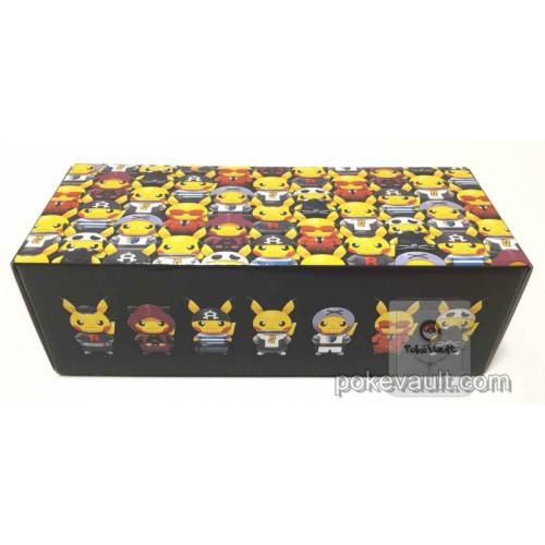 Pokemon Center 2016 Secret Teams Campaign #2 Pretend Evil Team Pikachu Large Size Cardboard Storage Box (EMPTY)