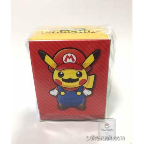 Pokemon Center 2016 Mario Pikachu Campaign Mario Pikachu Large Size Deck Box