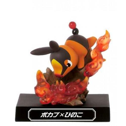 Pokemon 2012 Banpresto UFO Game Catcher Prize Waza Museum Tepig Ember Figure