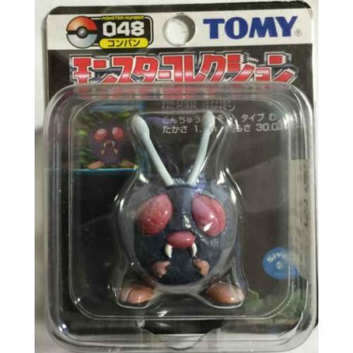 "Pokemon 2004 Venonat Tomy 2"" Monster Collection Plastic Figure #048"