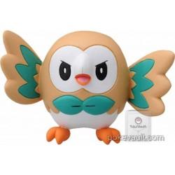 "Pokemon 2016 Rowlet Tomy 2"" Monster Collection Moncolle EX Plastic Figure EMC-02"