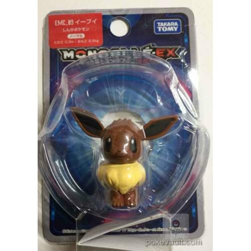 "Pokemon 2016 Eevee Tomy 2"" Monster Collection Moncolle EX Plastic Figure EMC-09"