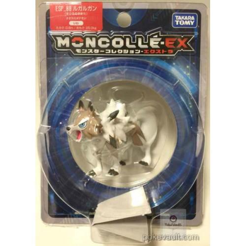 Pokemon 2016 Lycanroc Midday Form Monster Collection Moncolle EX Super Size Plastic Figure ESP-08