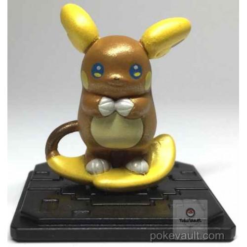 Pokemon 2017 Takara Tomy Moncolle Get Series #6 Shiny Metallic Alolan Raichu Secret Rare Figure
