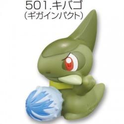 Pokemon 2012 Bandai Pokemon Kids Kimewaza BW3 Series Axew Figure