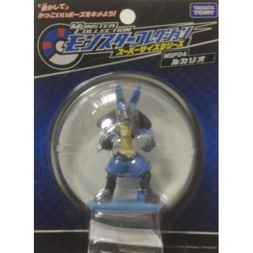Pokemon 2012 Lucario Super Size Monster Collection Plastic Figure MSP04