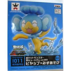 Pokemon 2012 Banpresto UFO Game Catcher Prize Waza Museum Panpour Water Sport Figure