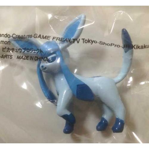 Pokemon Center 2013 Chupa Surprise Pokeball Glaceon Movie Version Figure & Candy