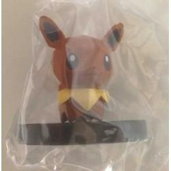 Pokemon Center 2013 Wii Pokemon Rumble Scramble U Series #2 Eevee Plastic Figure