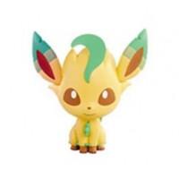 Pokemon 2013 Banpresto UFO Game Catcher Prize Leafeon Chibi Kyun Chara Figure
