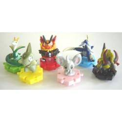 Pokemon 2011 Bandai Super Get Series #BW2 Emboar Figure