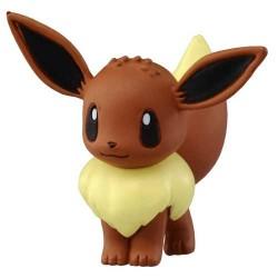 "Pokemon 2014 Eevee Tomy 2"" Monster Collection Plastic Figure MC-029"
