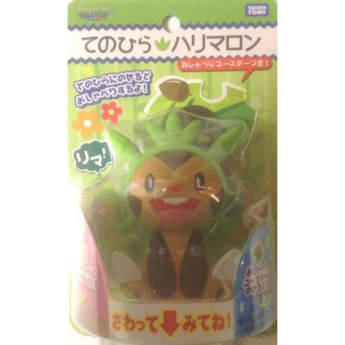 Pokemon 2013 Takara Tomy Chespin Palm Top Talking Figure