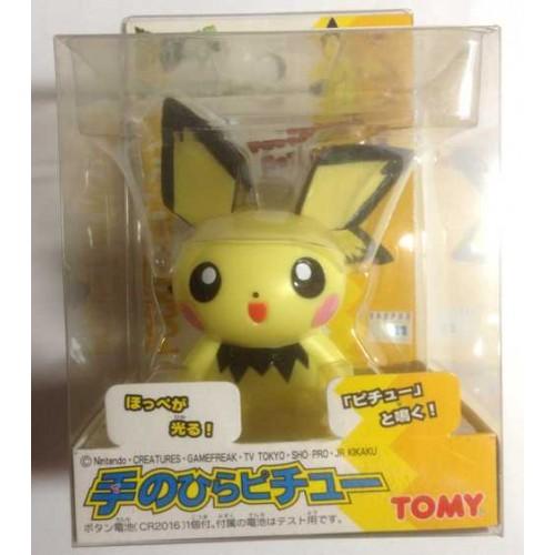 Pokemon 2000 Takara Tomy Pichu Palm Top Talking Figure