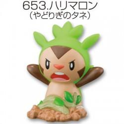 Pokemon 2014 Bandai Pokemon Kids X Y Kimewaza Series Chespin Figure