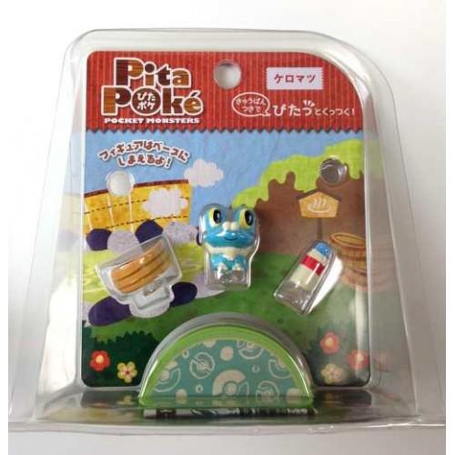 Pokemon 2014 Takara Tomy PitaPoke Froakie Mini Figure Playset