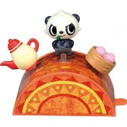Pokemon 2014 Takara Tomy PitaPoke Pancham Mini Figure Playset