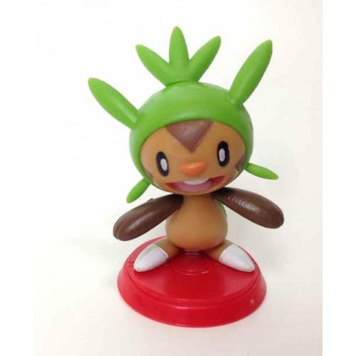 Pokemon Center 2014 Furuta Choco Egg XY Series #1 Chespin Figure