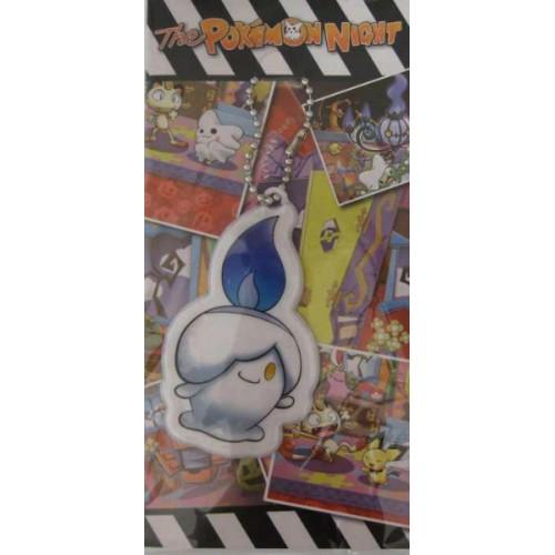 Pokemon Center 2012 Halloween The Pokemon Night Litwick Reflector Mascot Keychain