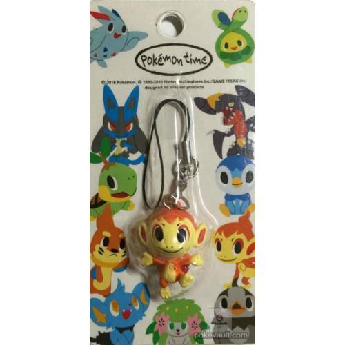 Pokemon Center 2016 Pokemon Time Campaign #9 Chimchar Mobile Phone Strap