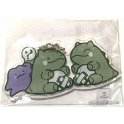 Pokemon Center 2016 Whimsicott Substitute Campaign Whimsicott Substitute Ditto Plastic Keychain (Version #5)