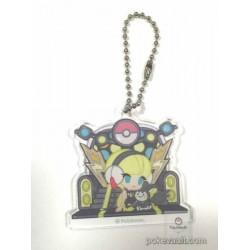 Pokemon Center 2016 Trainer Collection Undella Town Campaign Elesa Emolga Plastic Keychain (Version #A)