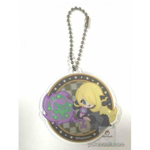 Pokemon Center 2016 Trainer Collection Undella Town Campaign Cynthia Spiritomb Plastic Keychain (Version #B)