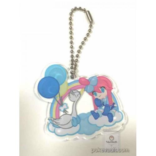Pokemon Center 2016 Trainer Collection Undella Town Campaign Skyla Swanna Plastic Keychain (Version #A)