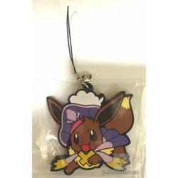 Pokemon Center 2016 Halloween Circus Campaign Eevee Rubber Strap