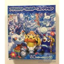 Pokemon Center Sapporo 2016 Renewal Opening Snow Festival Campaign Eevee Fennekin Pikachu Piplup Acrylic Plastic Keychain (Version #6)