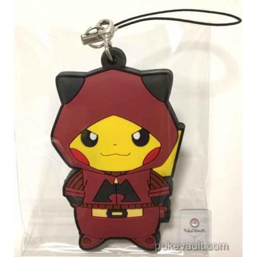 Pokemon Center 2016 Secret Teams Campaign #2 Team Magma Pikachu Rubber Strap