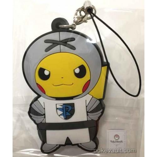 Pokemon Center 2016 Secret Teams Campaign #2 Team Plasma Pikachu Rubber Strap