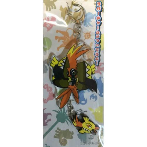 Pokemon Center 2016 Tapu Koko Acrylic Plastic Character Keychain
