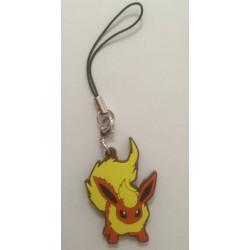 Pokemon Center 2013 Flareon Rubber Strap Series #1
