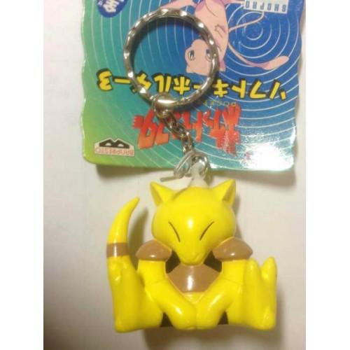 Pokemon 1997 Banpresto Abra Character Keychain