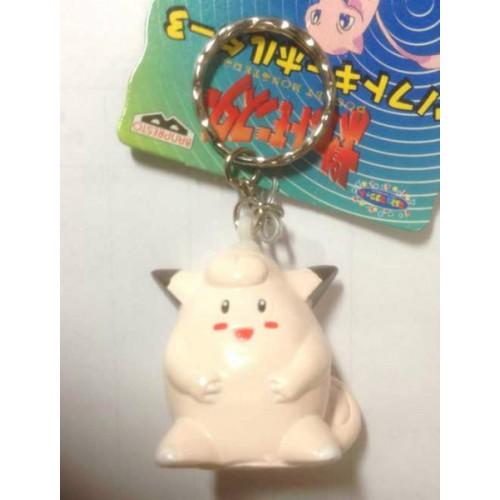 Pokemon 1997 Banpresto Clefairy Character Keychain