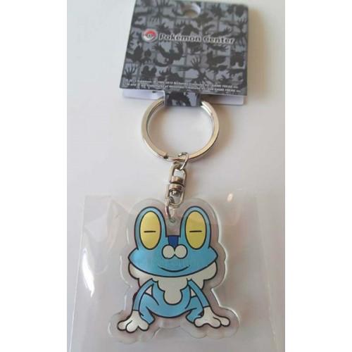 Pokemon Center 2013 Froakie Acrylic Plastic Character Keychain